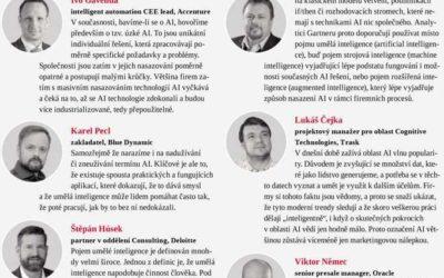 Článek oumělé inteligenci vHospodářských novinách