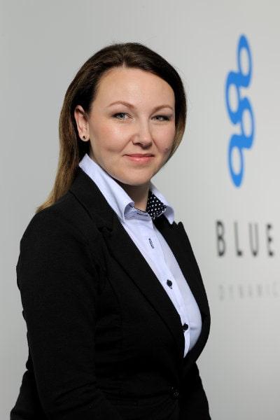 Eva Možná Blue Dynamic