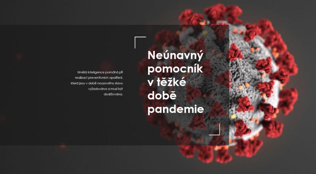 AI - eMotion counter a koronavirus